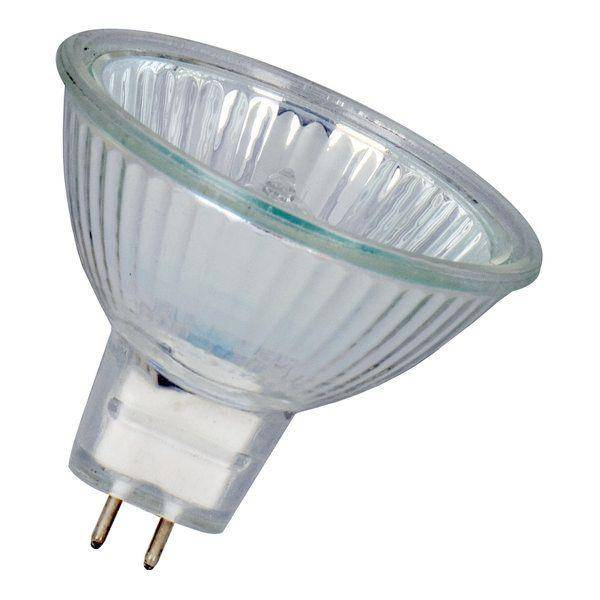 Лампа галогенная MR16 50W 12V G5.3 красный DELUX цена купить в интернет-магазине Volta (Вольта)